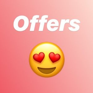 Other - I love 💕 reasonable 💕 offers